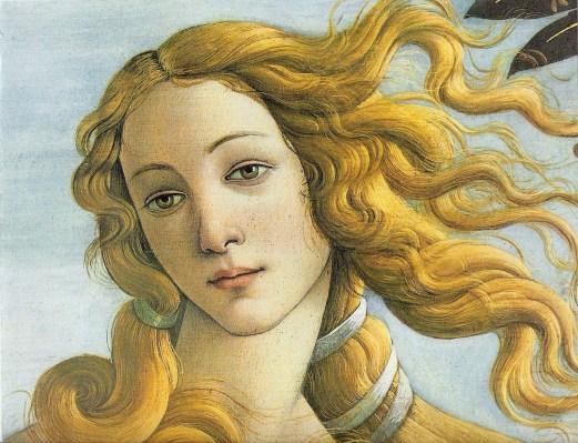 Nacimiento de Venus (detalle)